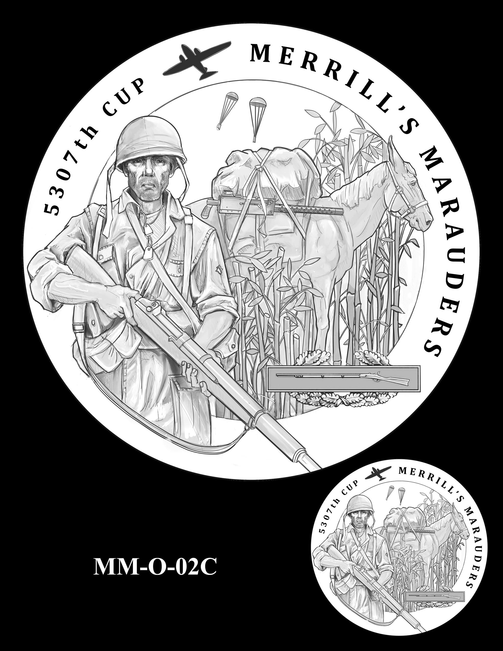 MM-O-02C -- Merrill's Marauders Congressional Gold Medal