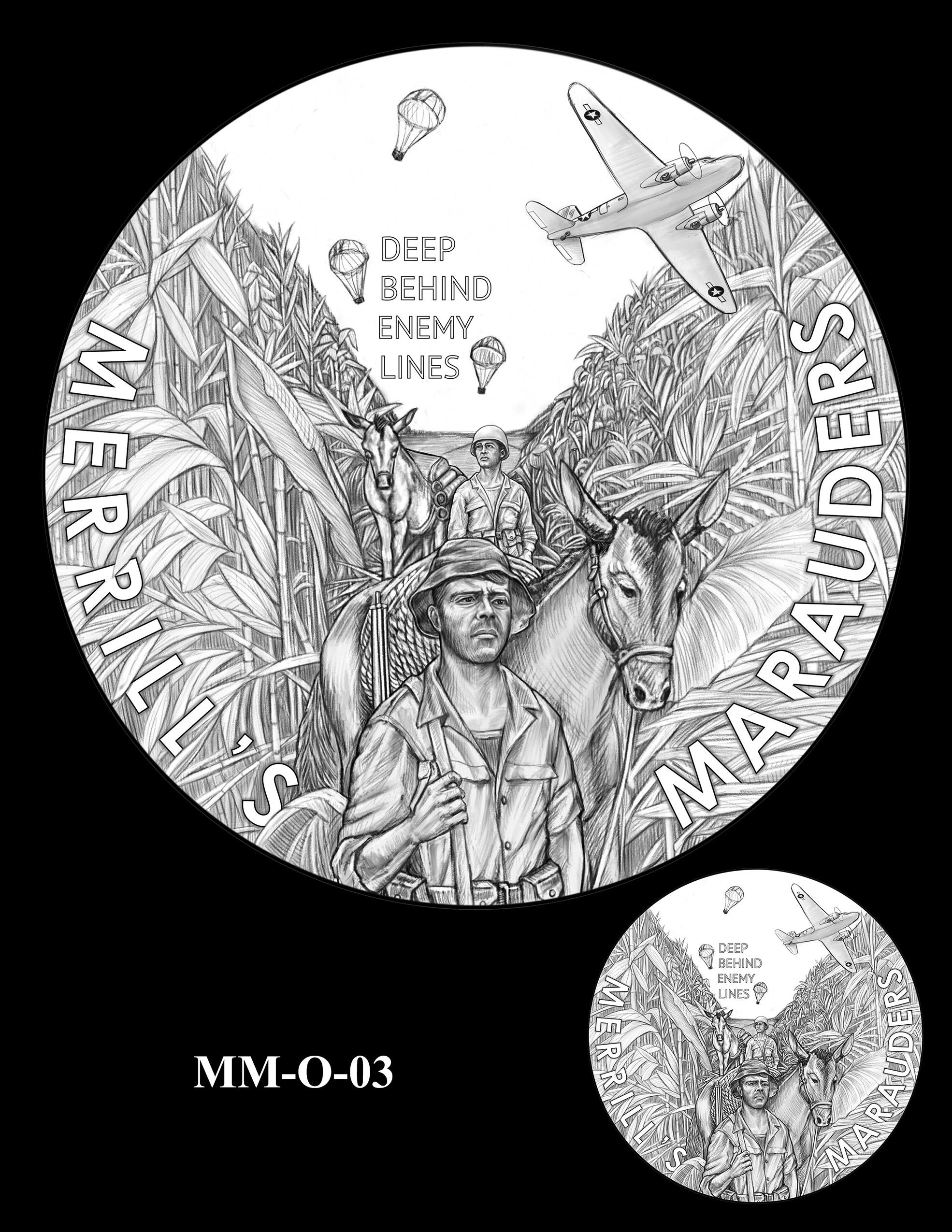 MM-O-03 -- Merrill's Marauders Congressional Gold Medal