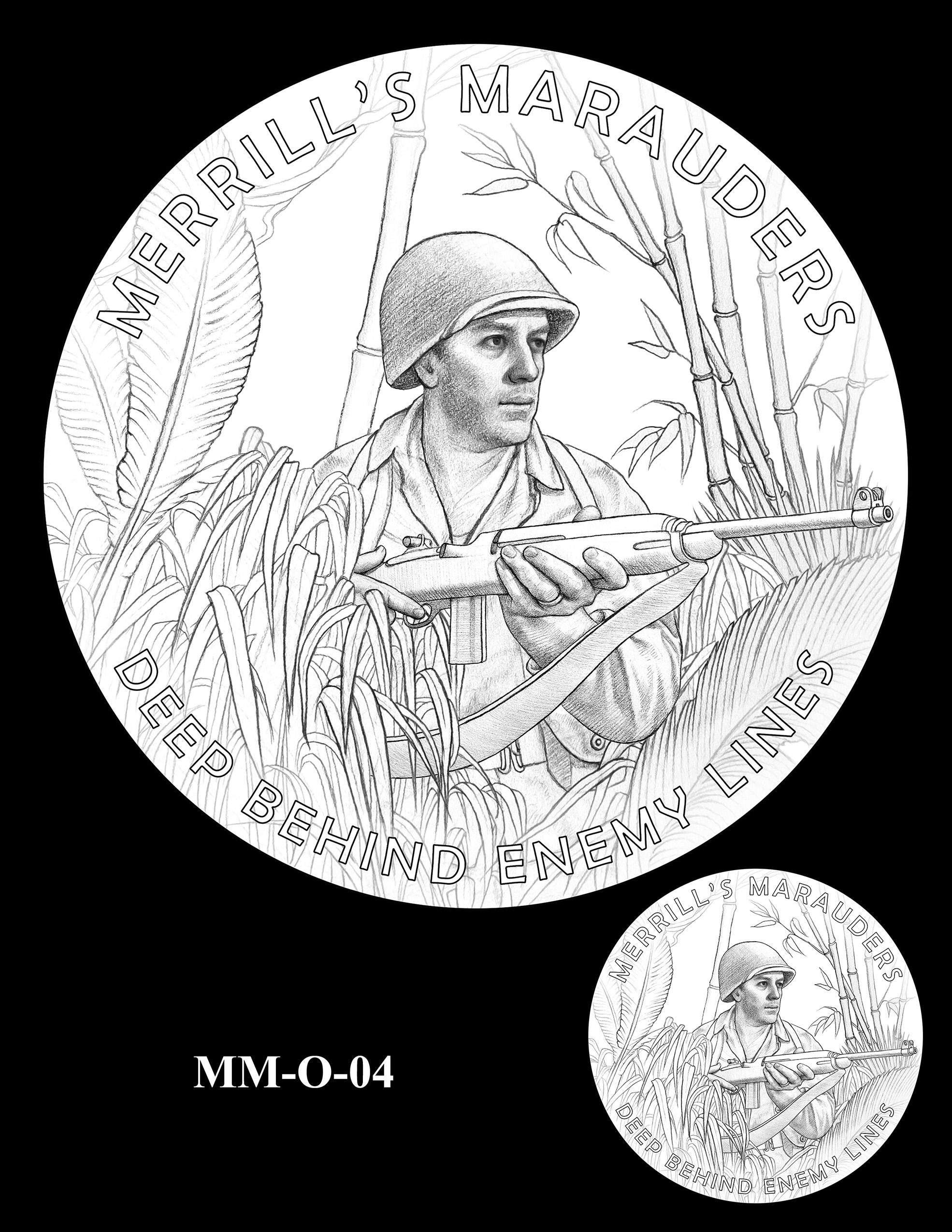 MM-O-04 -- Merrill's Marauders Congressional Gold Medal