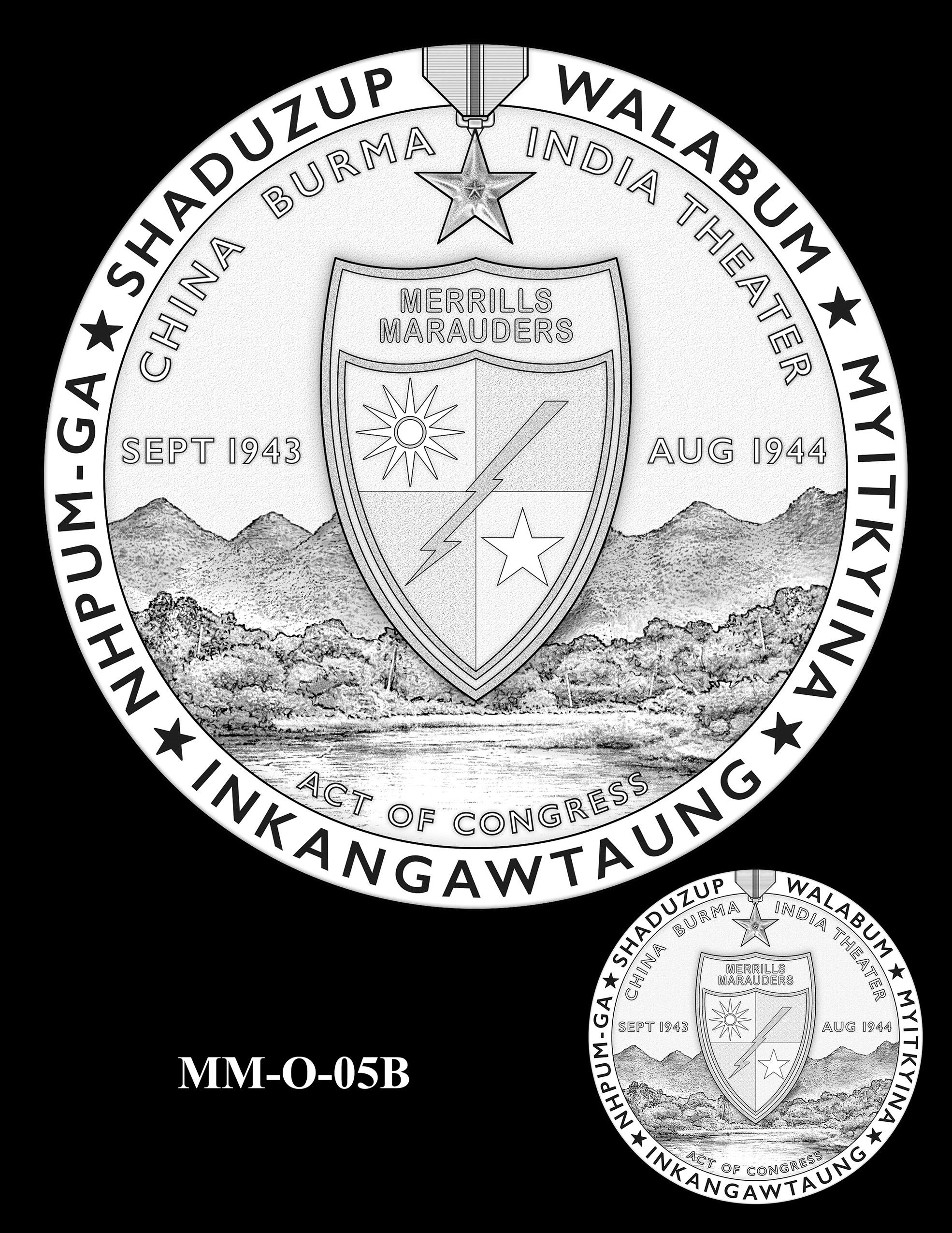 MM-O-05B -- Merrill's Marauders Congressional Gold Medal