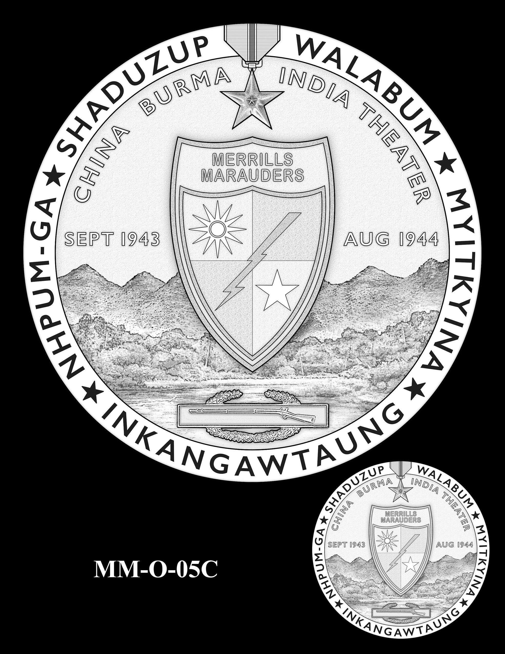 MM-O-05C -- Merrill's Marauders Congressional Gold Medal