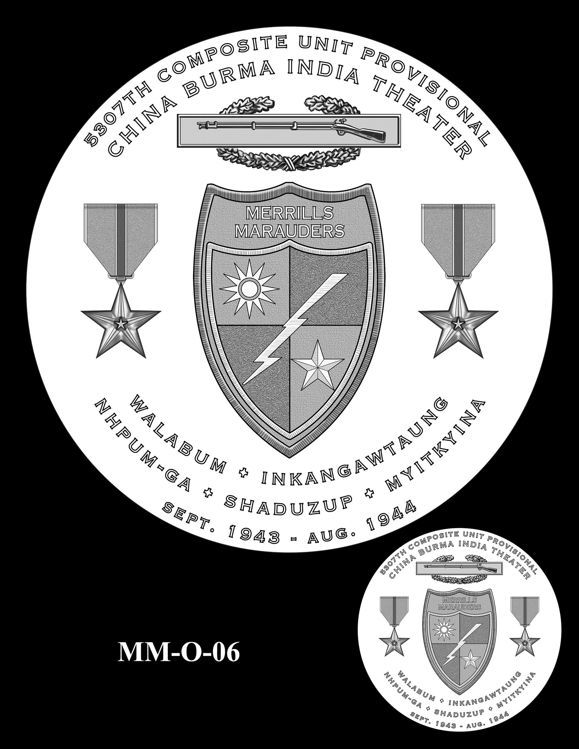 MM-O-06 -- Merrill's Marauders Congressional Gold Medal