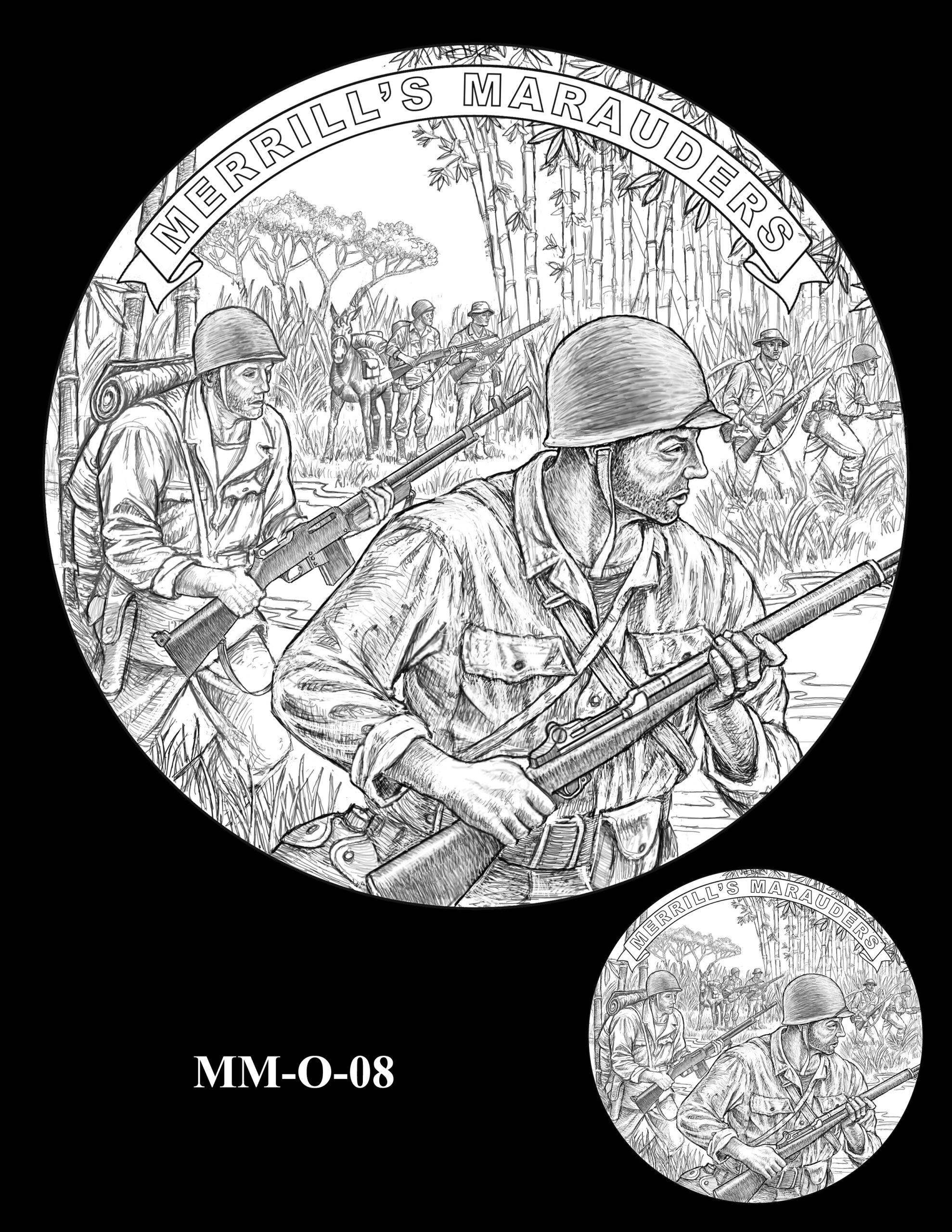 MM-O-08 -- Merrill's Marauders Congressional Gold Medal