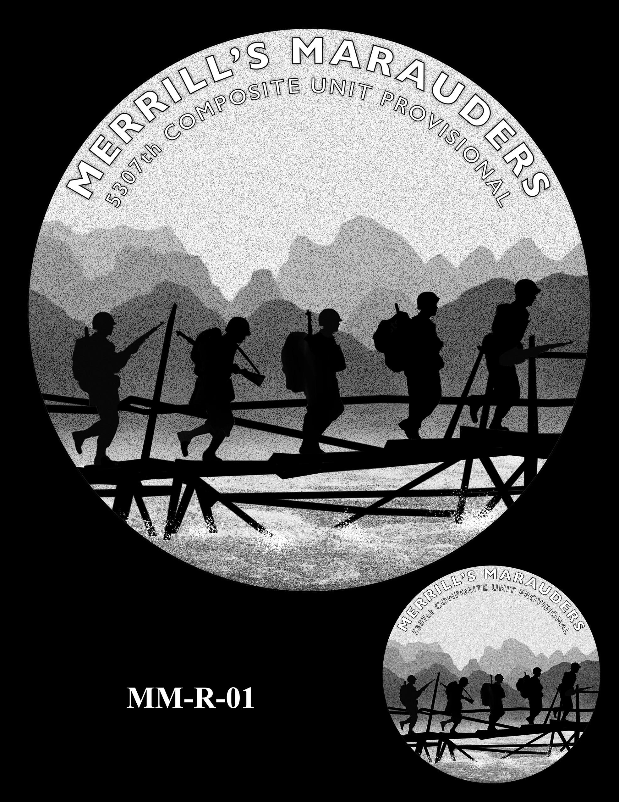 MM-R-01 -- Merrill's Marauders Congressional Gold Medal