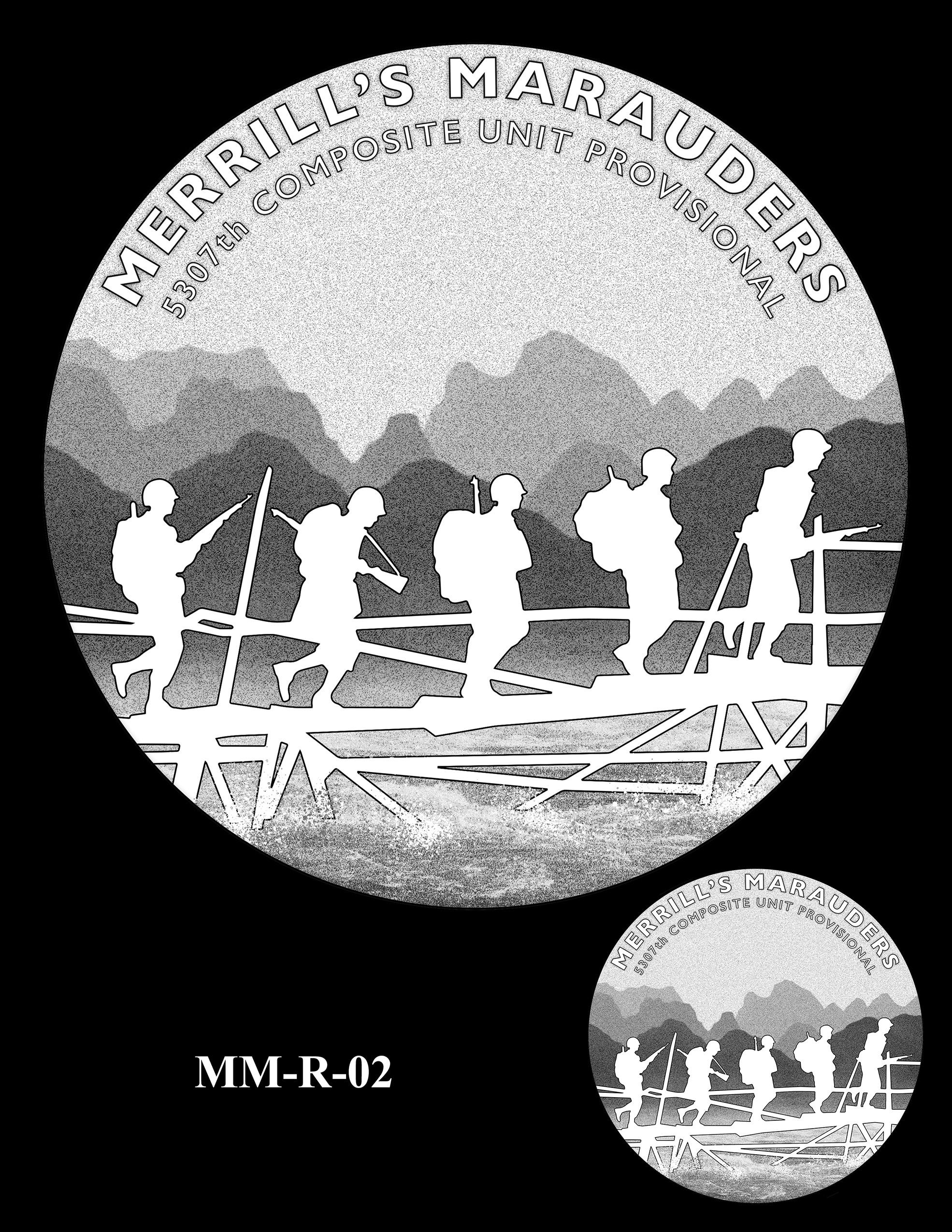 MM-R-02 -- Merrill's Marauders Congressional Gold Medal
