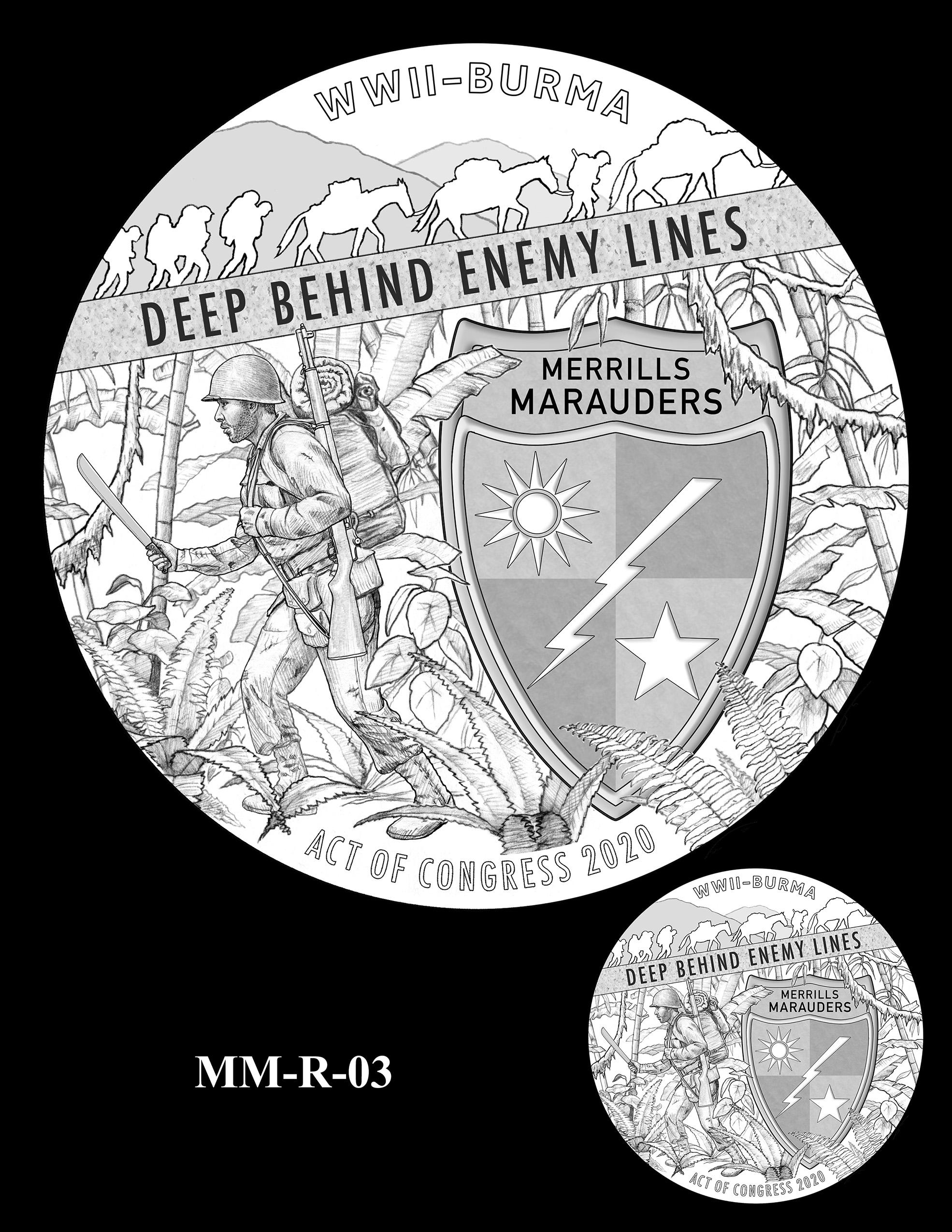 MM-R-03 -- Merrill's Marauders Congressional Gold Medal