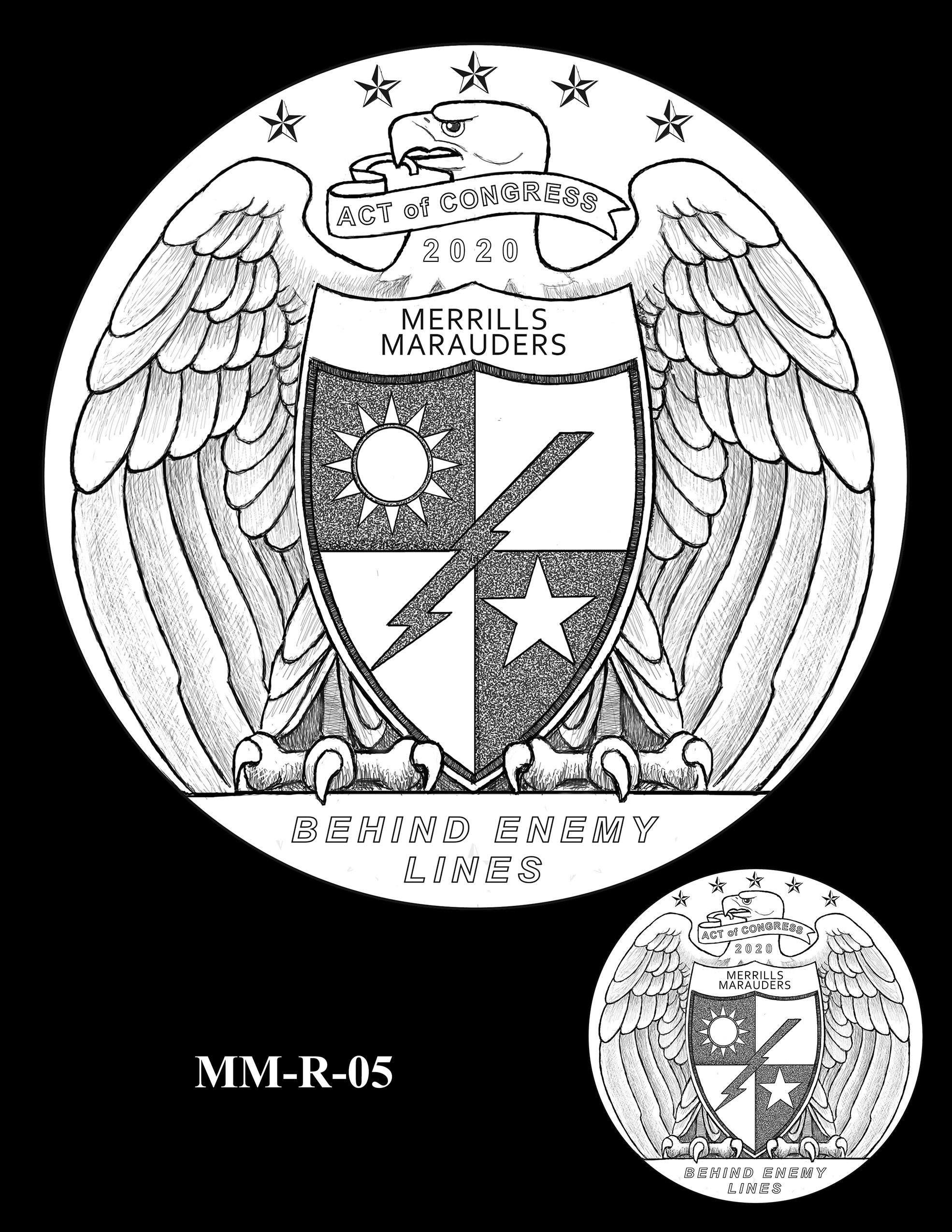 MM-R-05 -- Merrill's Marauders Congressional Gold Medal