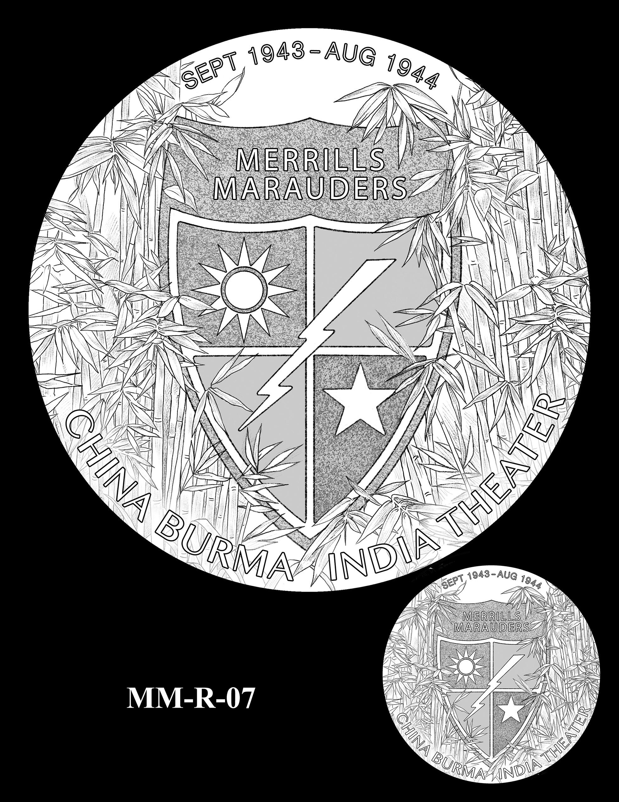 MM-R-07 -- Merrill's Marauders Congressional Gold Medal