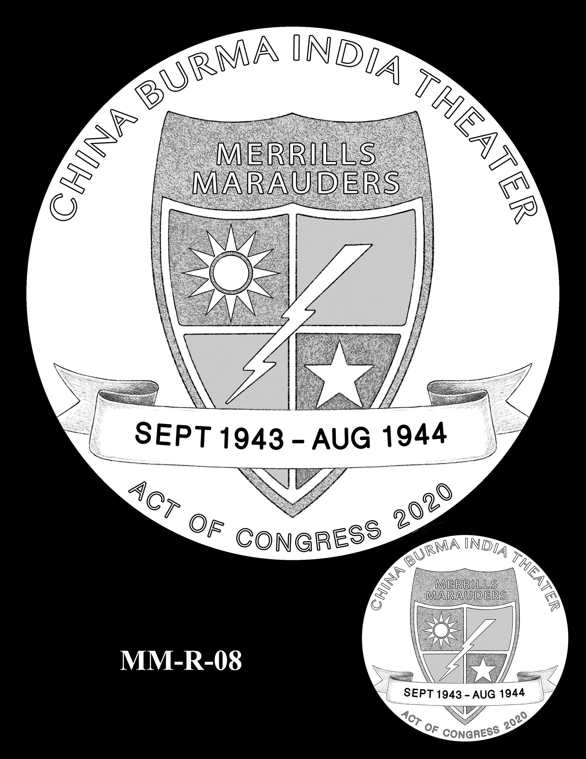 MM-R-08 -- Merrill's Marauders Congressional Gold Medal