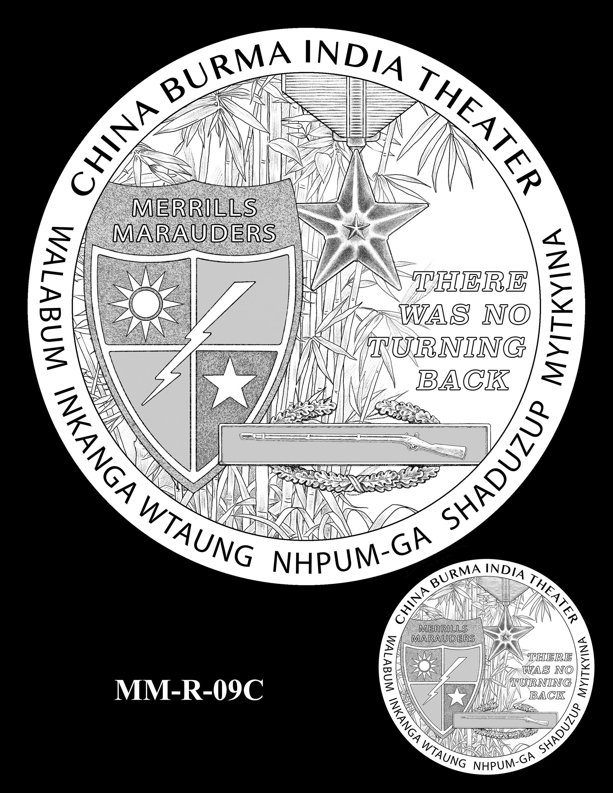 MM-R-09C -- Merrill's Marauders Congressional Gold Medal