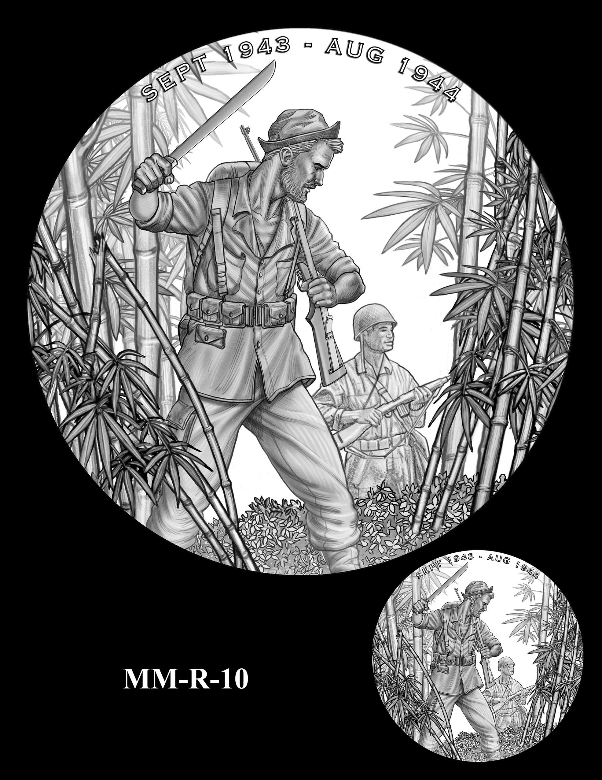 MM-R-10 -- Merrill's Marauders Congressional Gold Medal