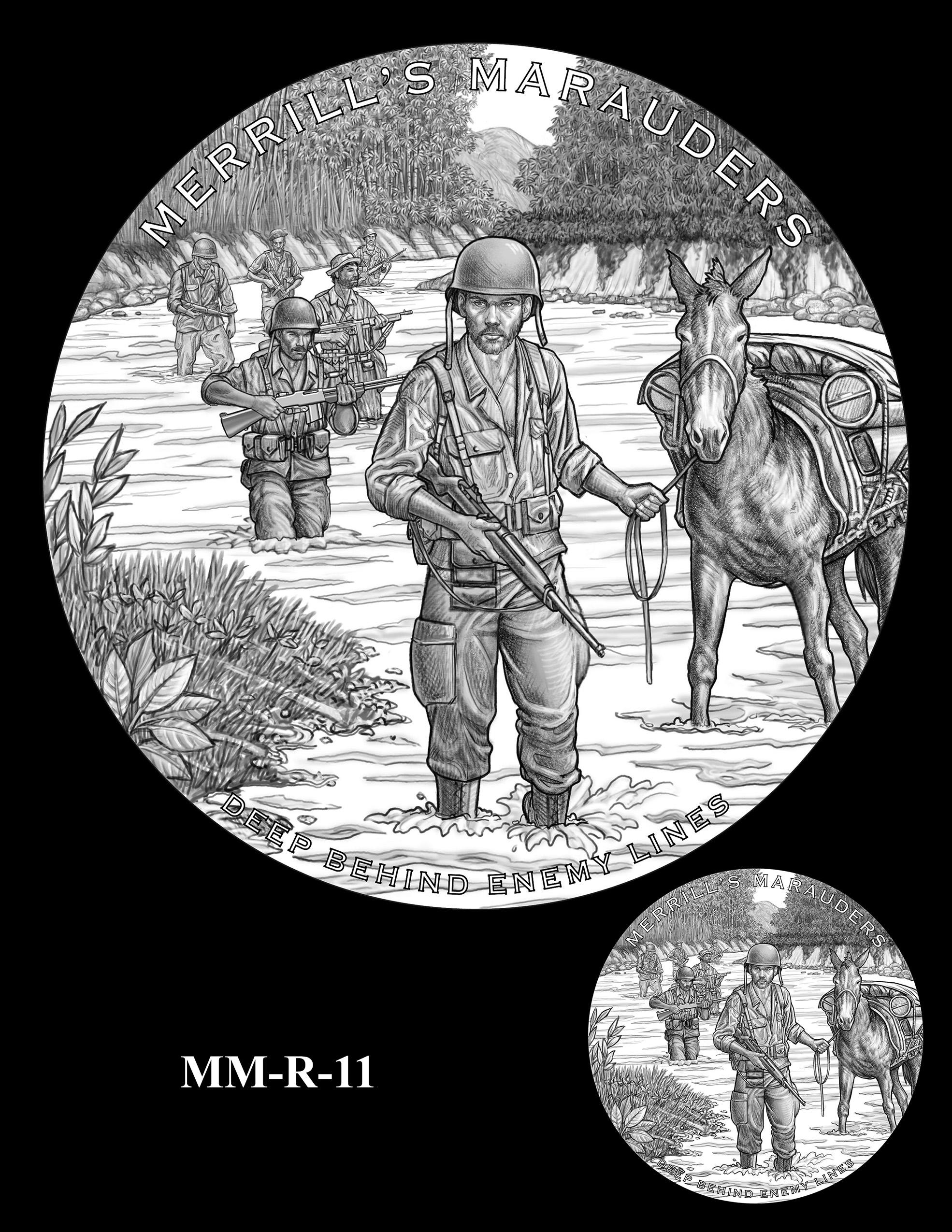 MM-R-11 -- Merrill's Marauders Congressional Gold Medal