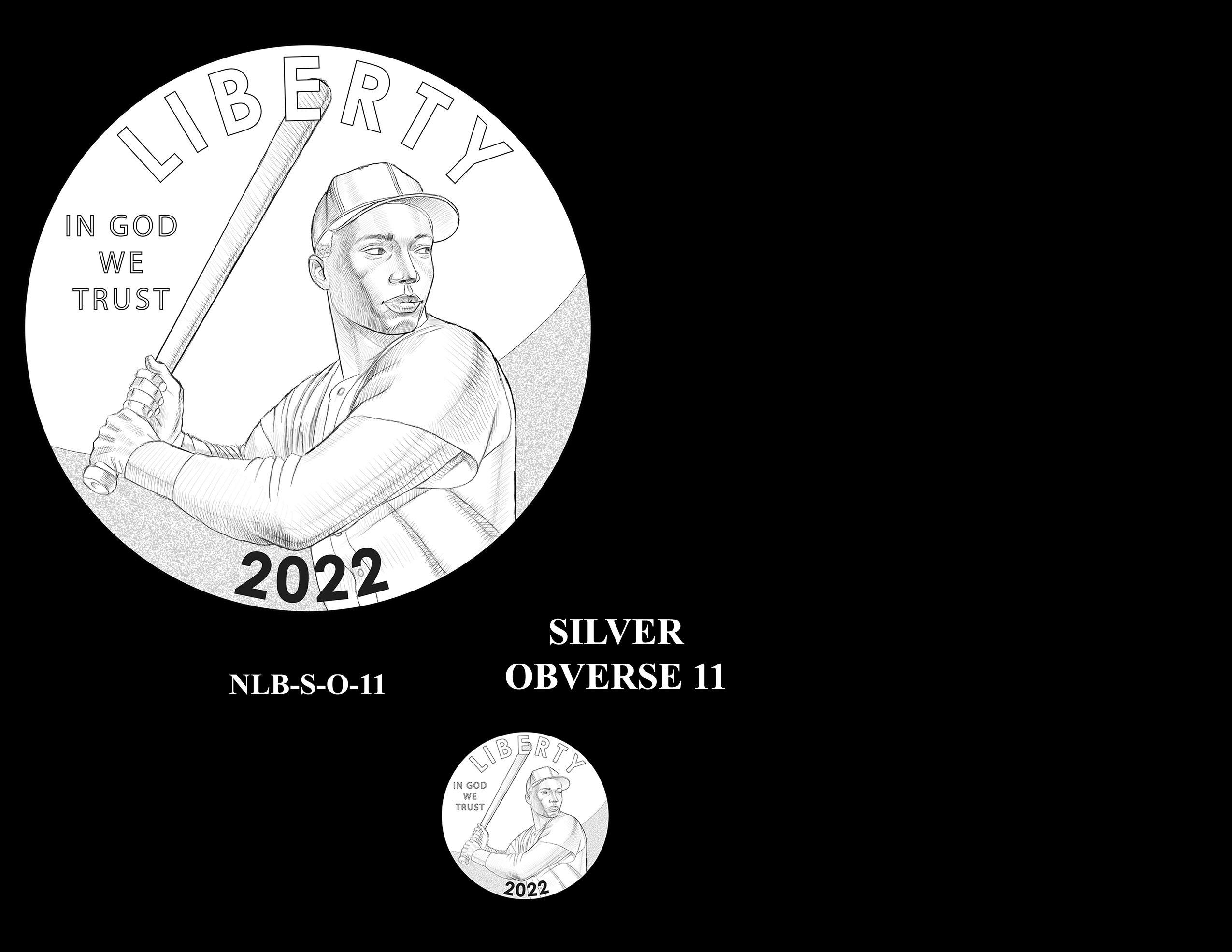 Silver Pair 11 -- Negro Leagues Baseball Commemorative Coin Program