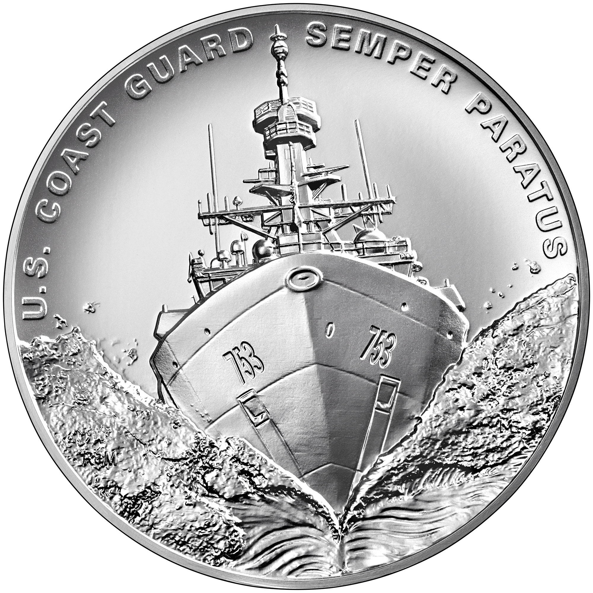 Armed Forces Silver Medal U.S. Coast Guard Obverse