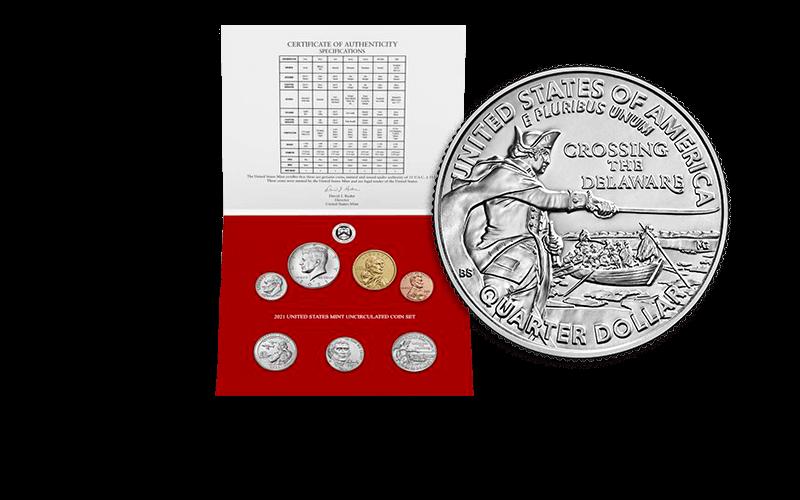 2021 U.S. Mint Uncirculated Coin Set